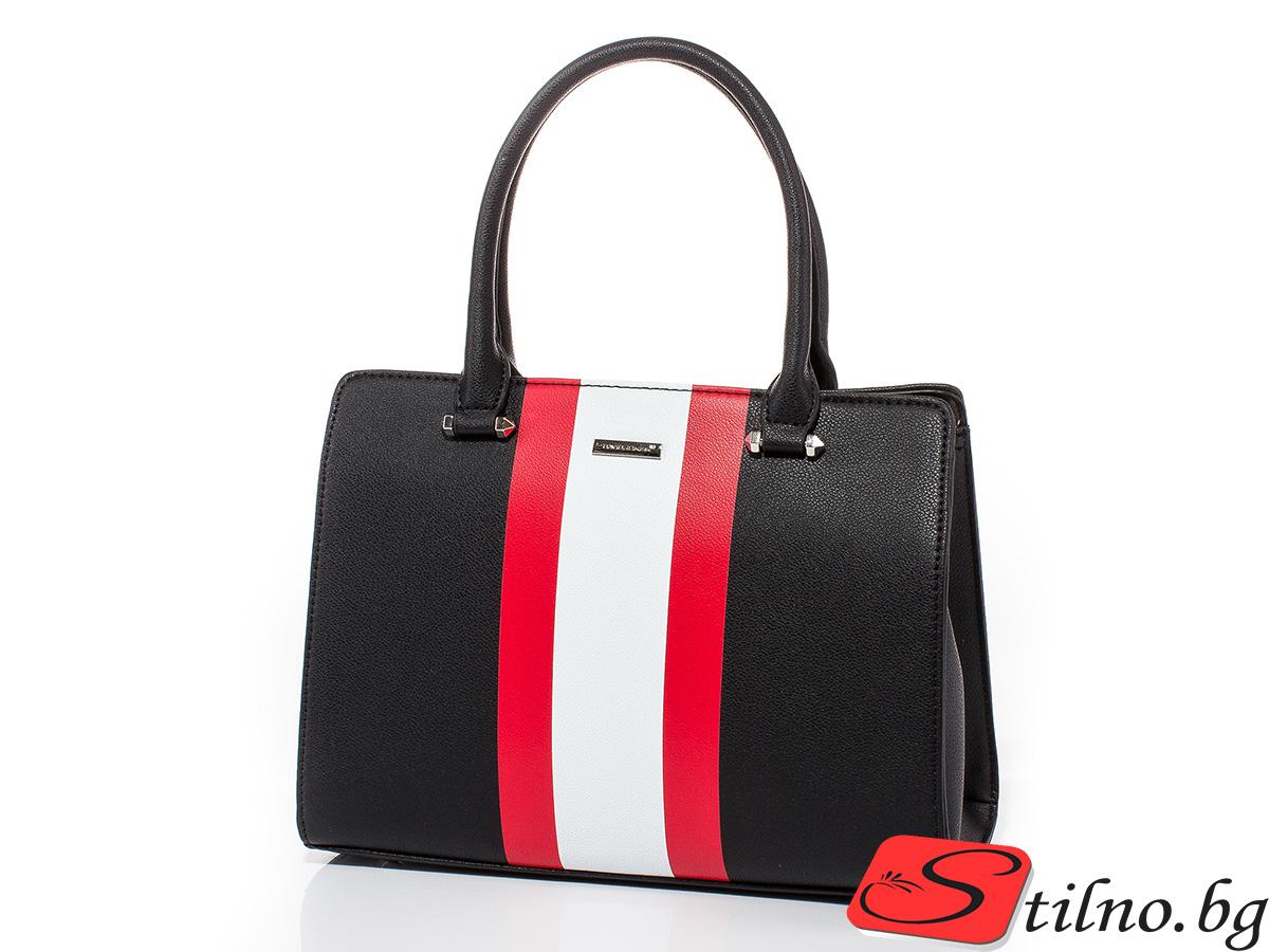 Дамска чанта David Jones 6000-208 - Черна