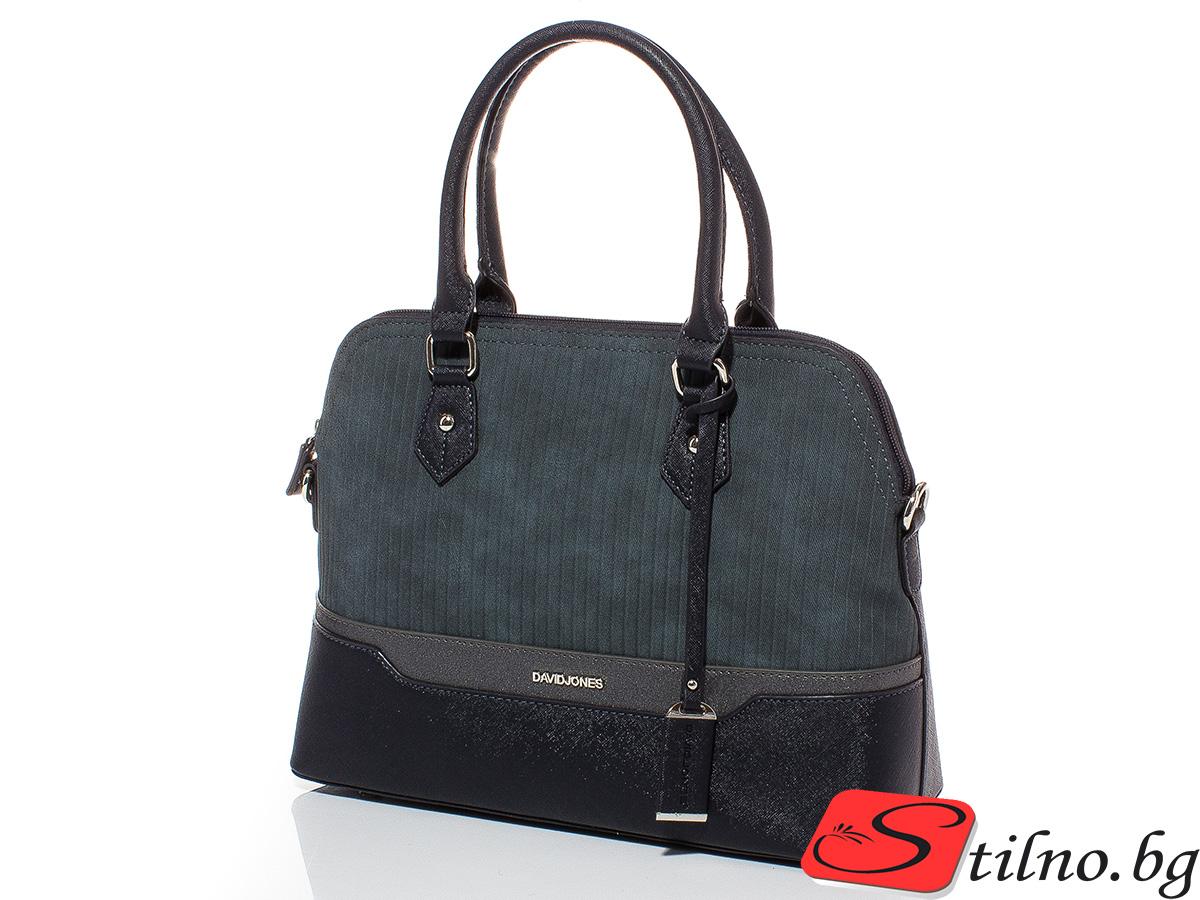 Дамска чанта David Jones 6103-324 - Тъмносиня