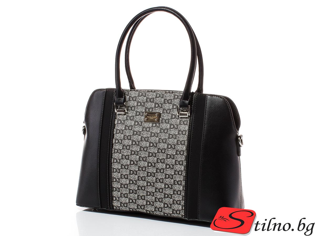Дамска чанта David Jones 6122-108 - Черна