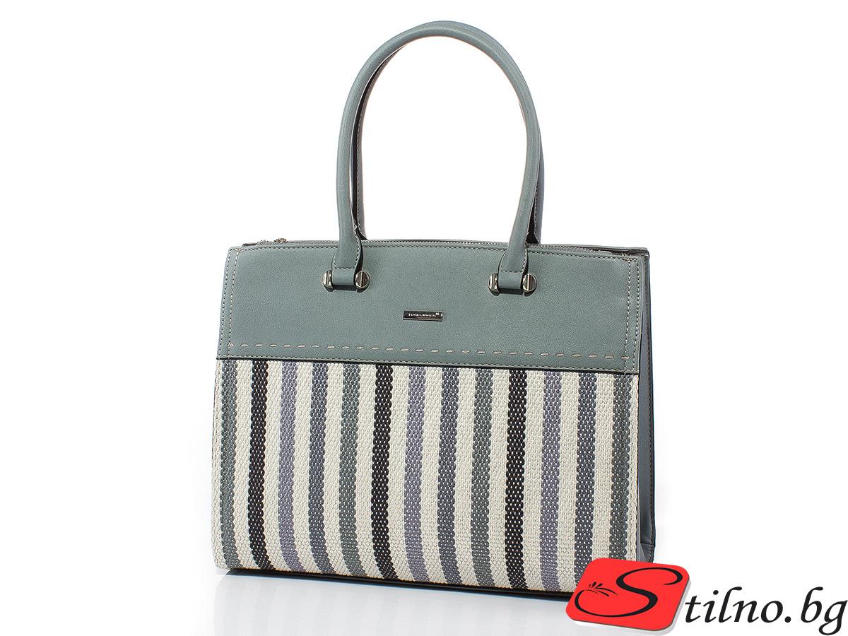 Дамска чанта David Jones CM5212-02 - Сива