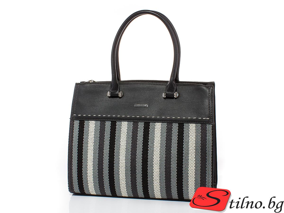 Дамска чанта David Jones CM5212-08 - Черна