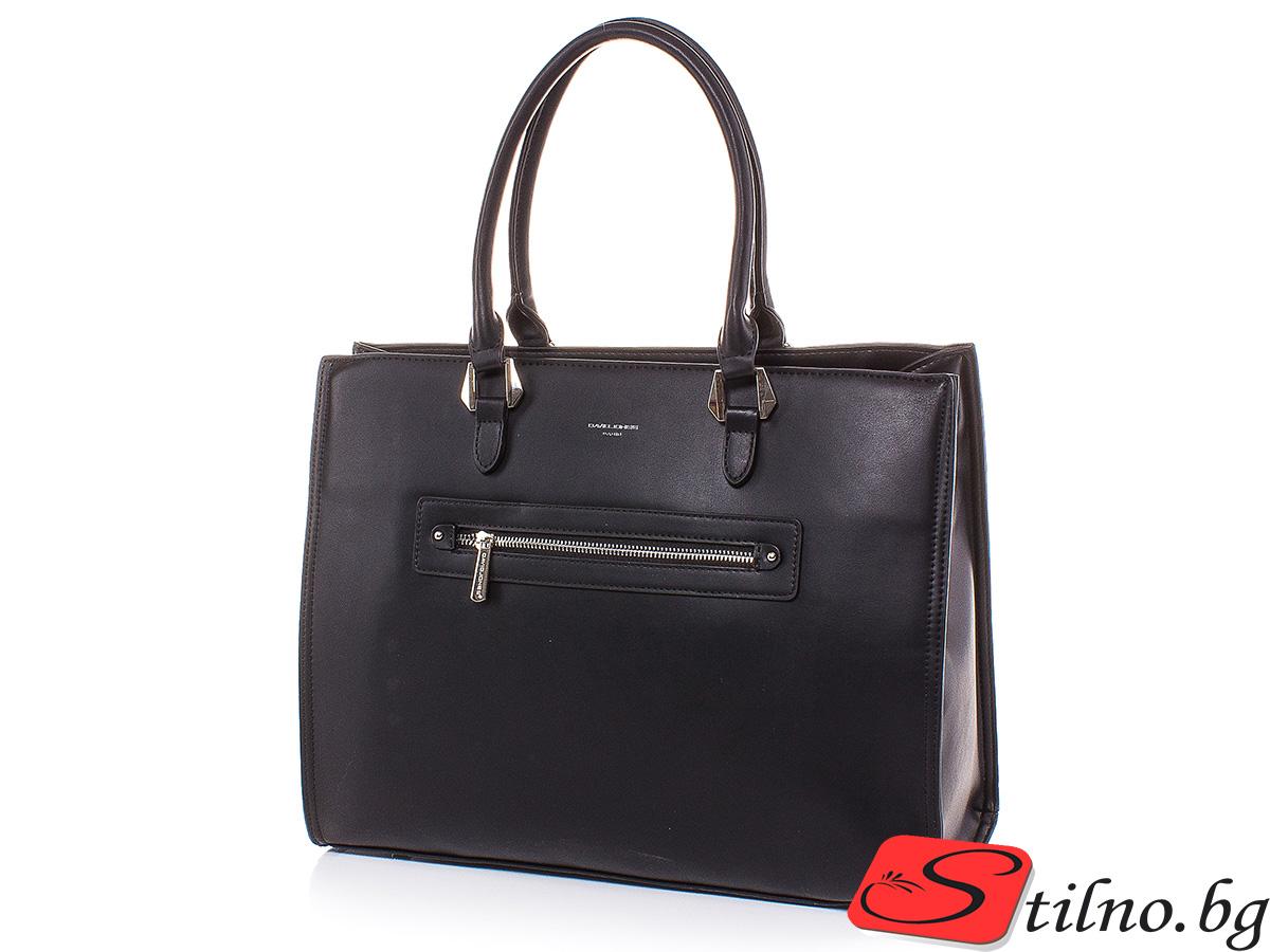 Дамска чанта David Jones CM5996-08 - Черна