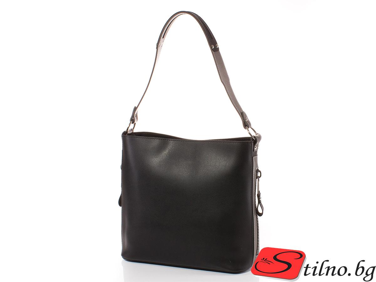 Дамска чанта Грета 1563-08 - Черна