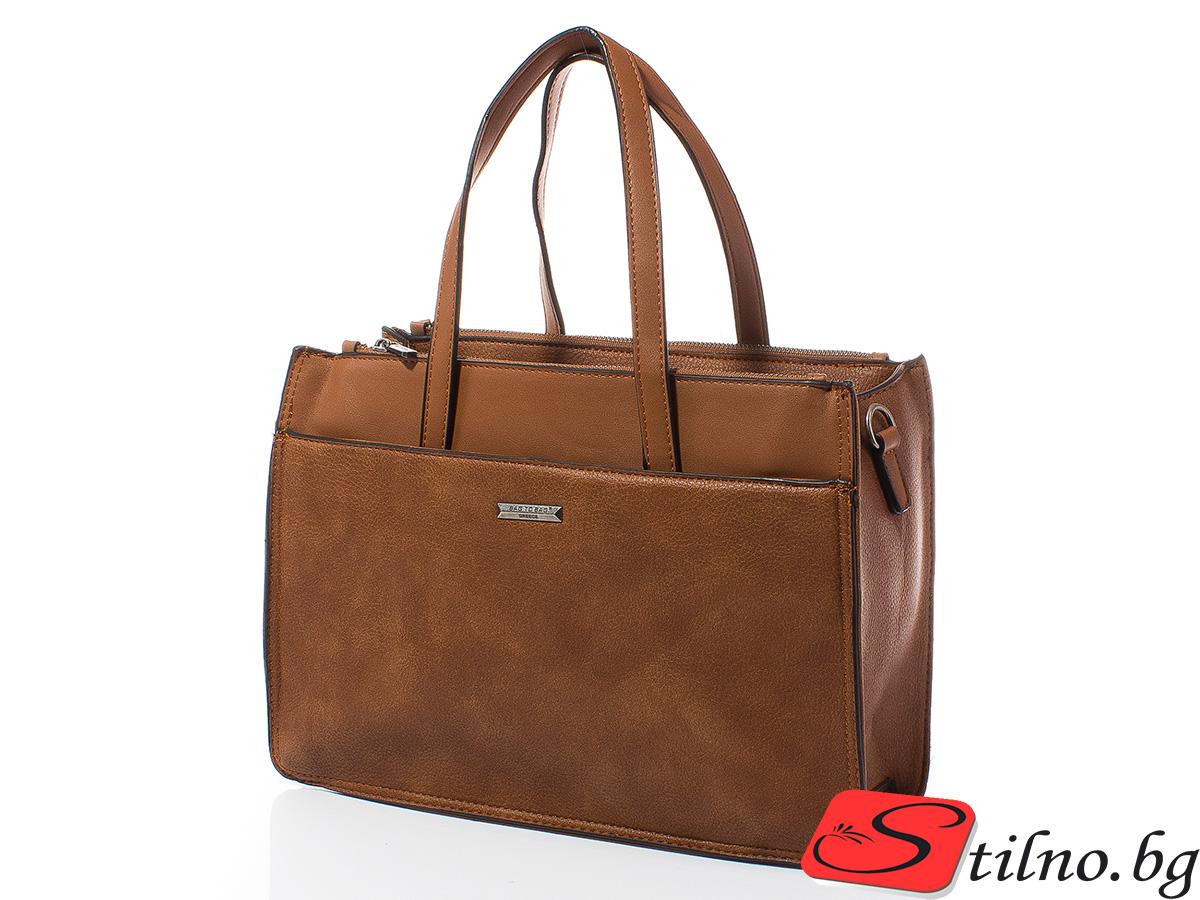 Дамска чанта Лили 1606-10 - Камел