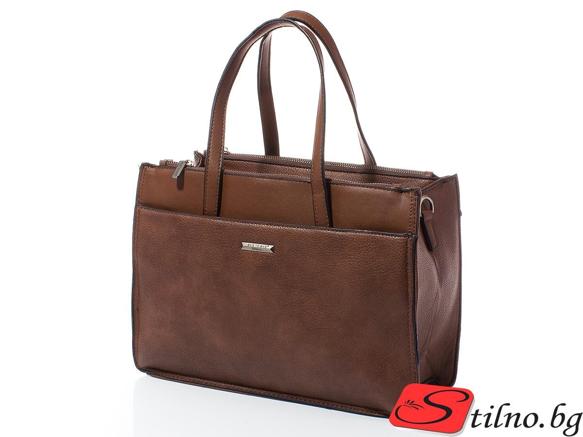 Дамска чанта Лили 1606-21 - Кафява