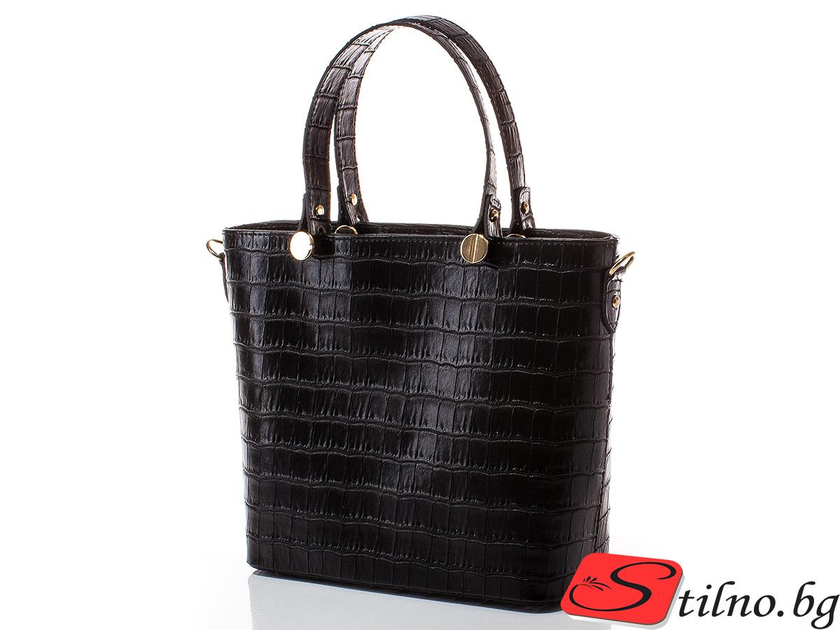 Дамска чанта Магда 1610-08 - Черна