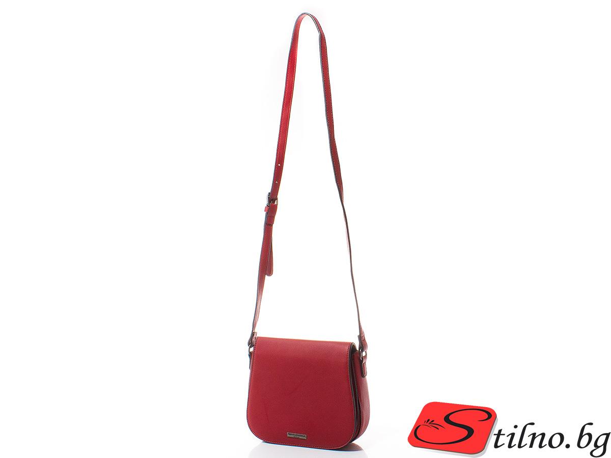 Дамска Чанта През Рамо Рада 1614-05 - Червена