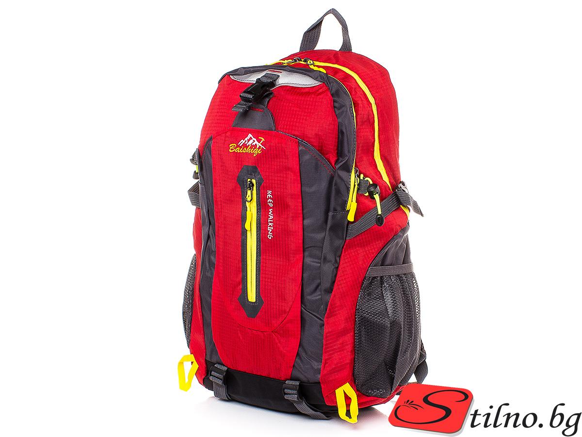 Туристическа Раница S1113-05 - Червена