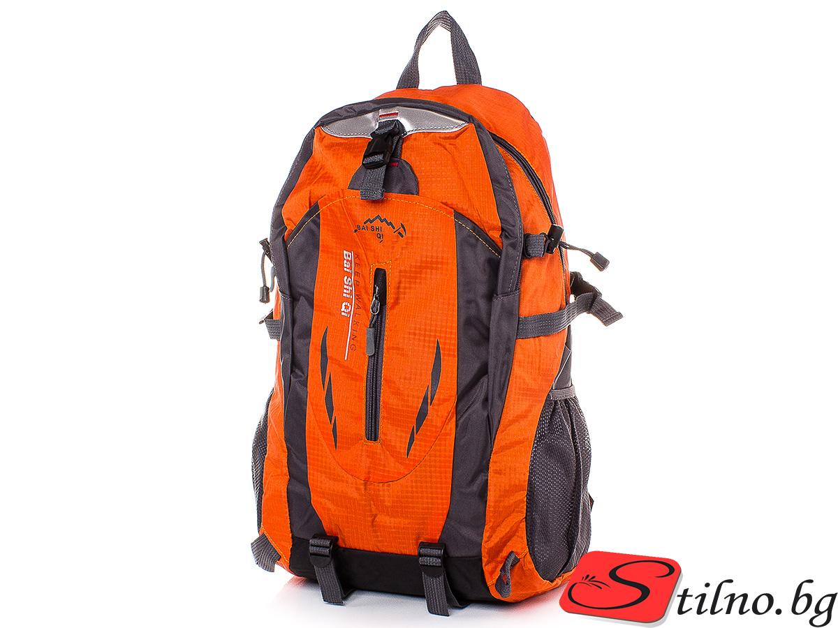 Туристическа Раница S1114-14 - Оранжева