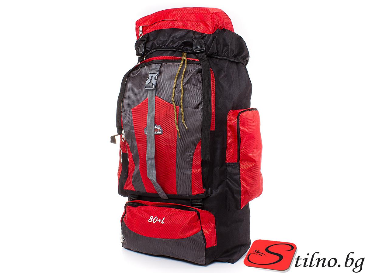 Туристическа Раница S1115-05 - Червена