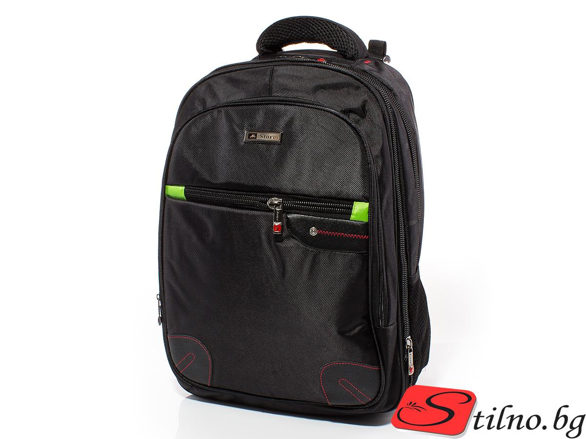 Раница за лаптоп S3000-08 - Черна