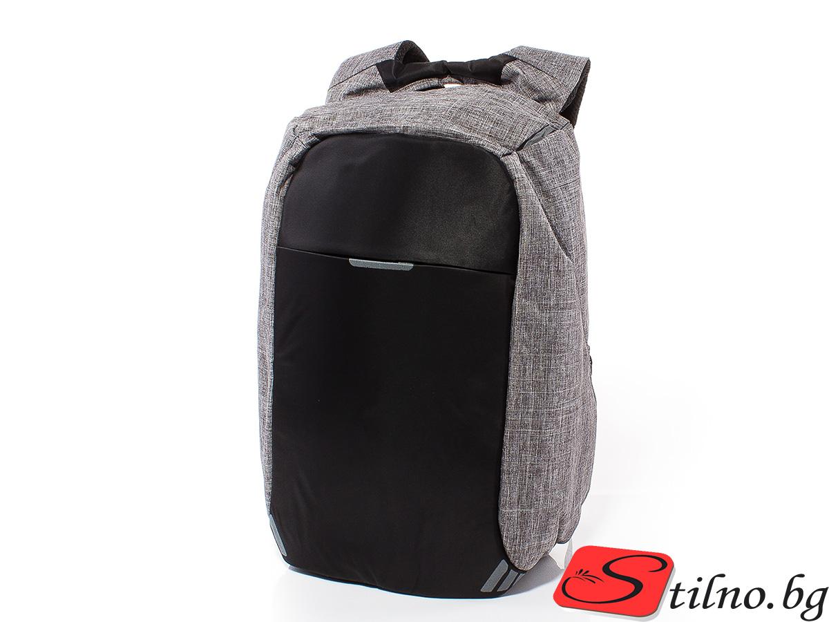 Раница за лаптоп S3005-02 - Сива
