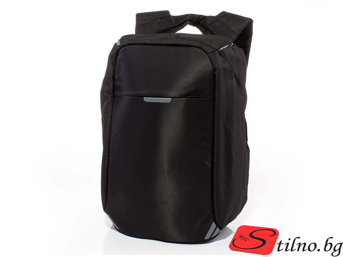 Раница за лаптоп S3005-08 - Черен