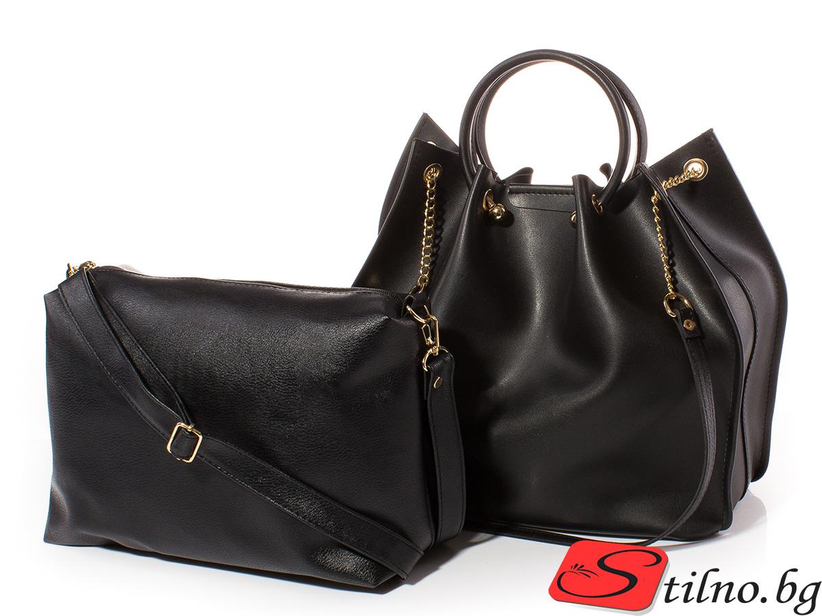 Дамска чанта Дебора 1561-08 - Черна