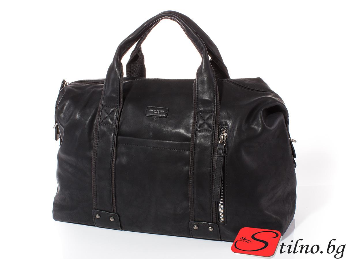 Пътна чанта David Jones CM3960-08 - Черна