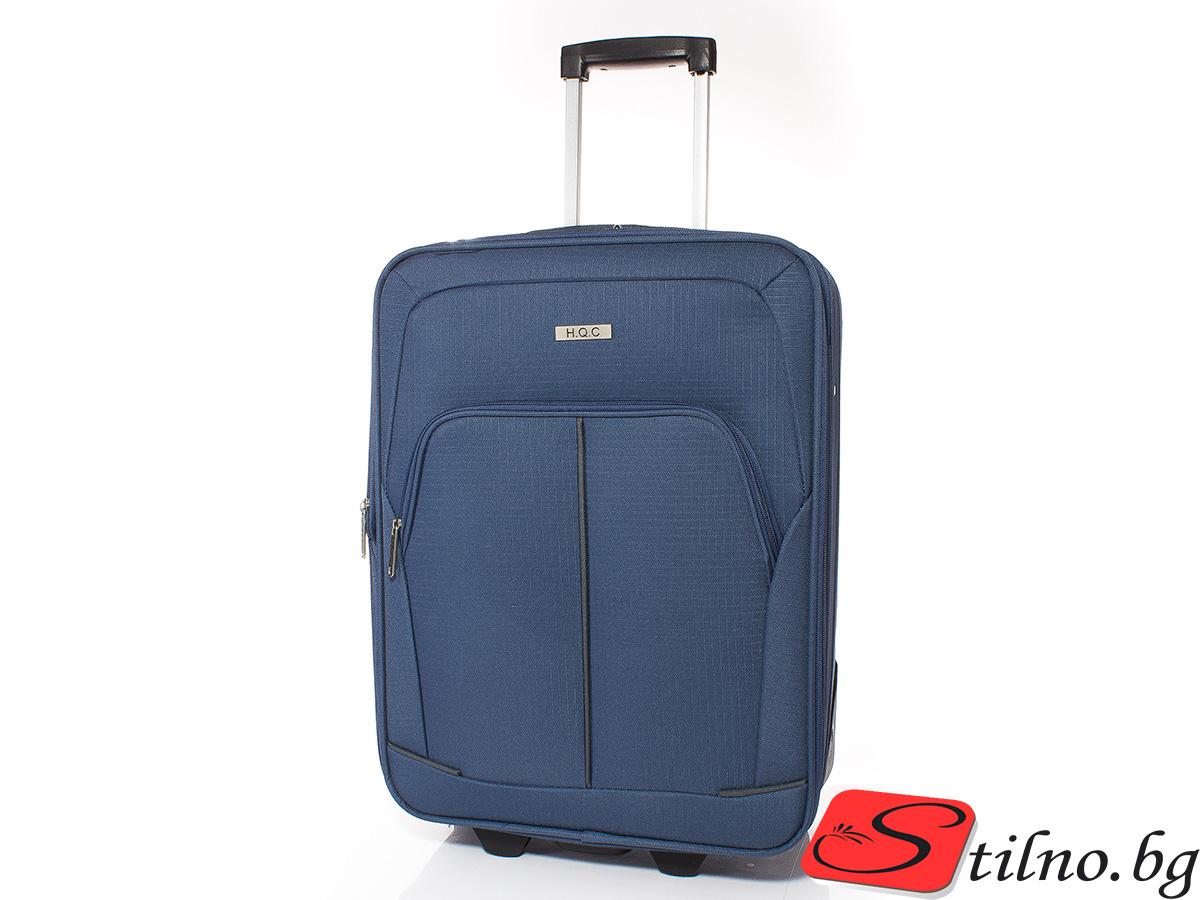Куфар за ръчен багаж 55/37/18 T1005-04 - Син