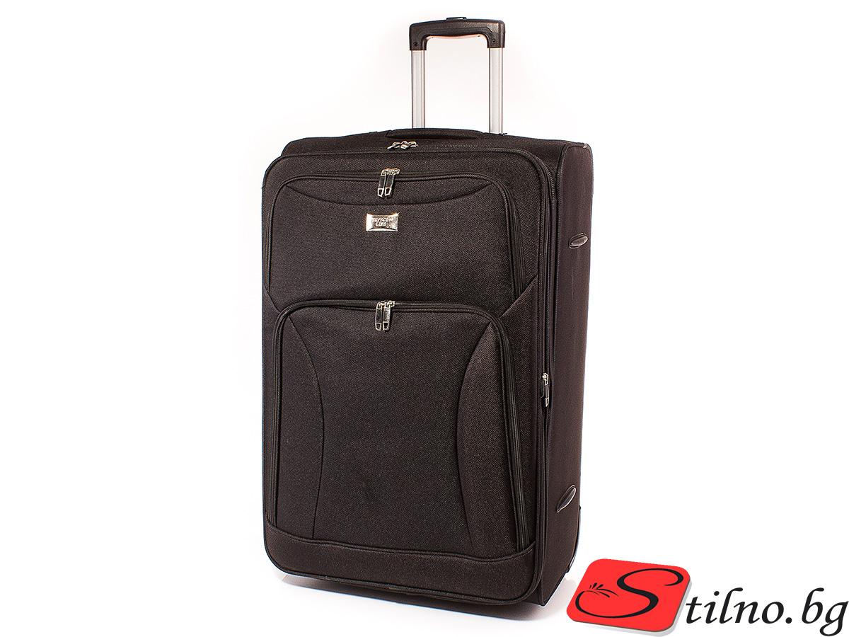 Куфар Perfect line 72/45/27  T1006L-08 - Черен