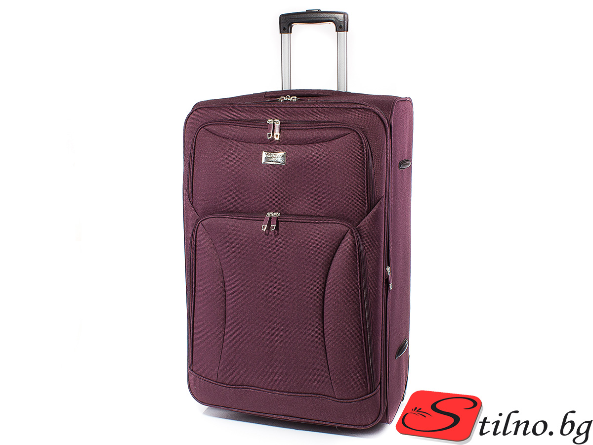 Куфар Perfect line 72/45/27  T1006L-23 - Бордо
