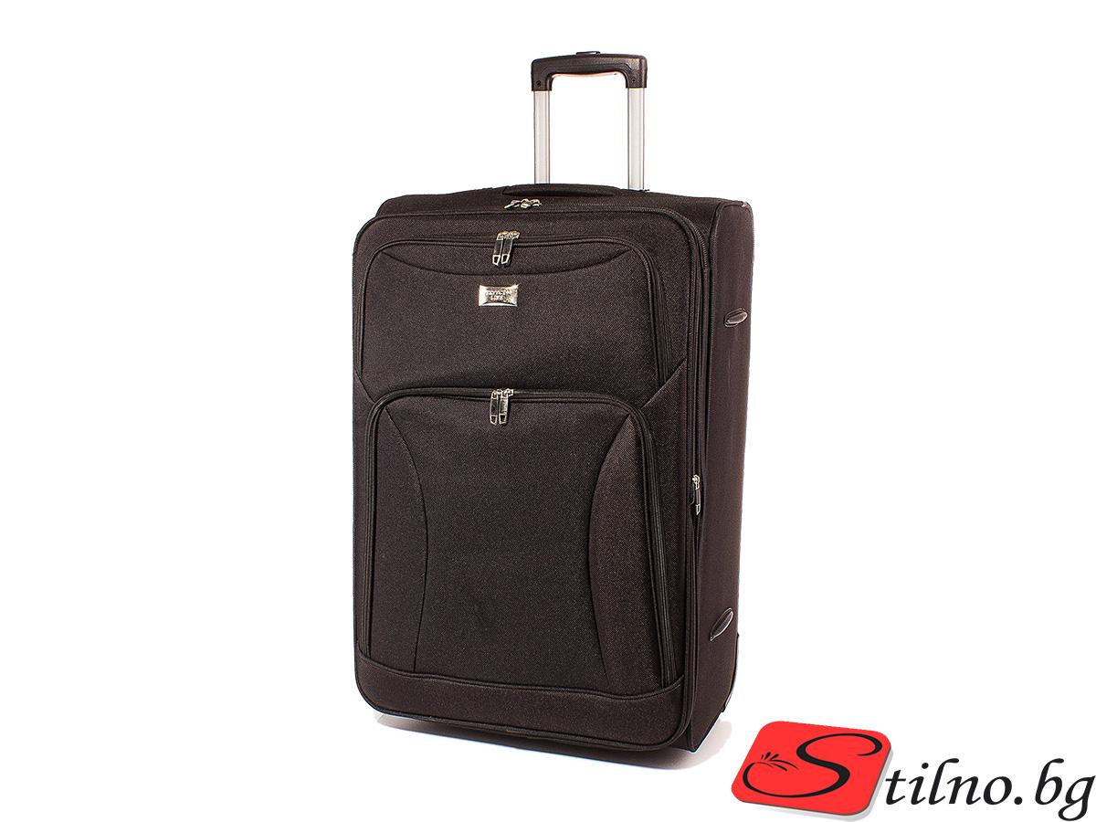 Куфар Perfect line 62/41/24  T1006M-08 - Черен