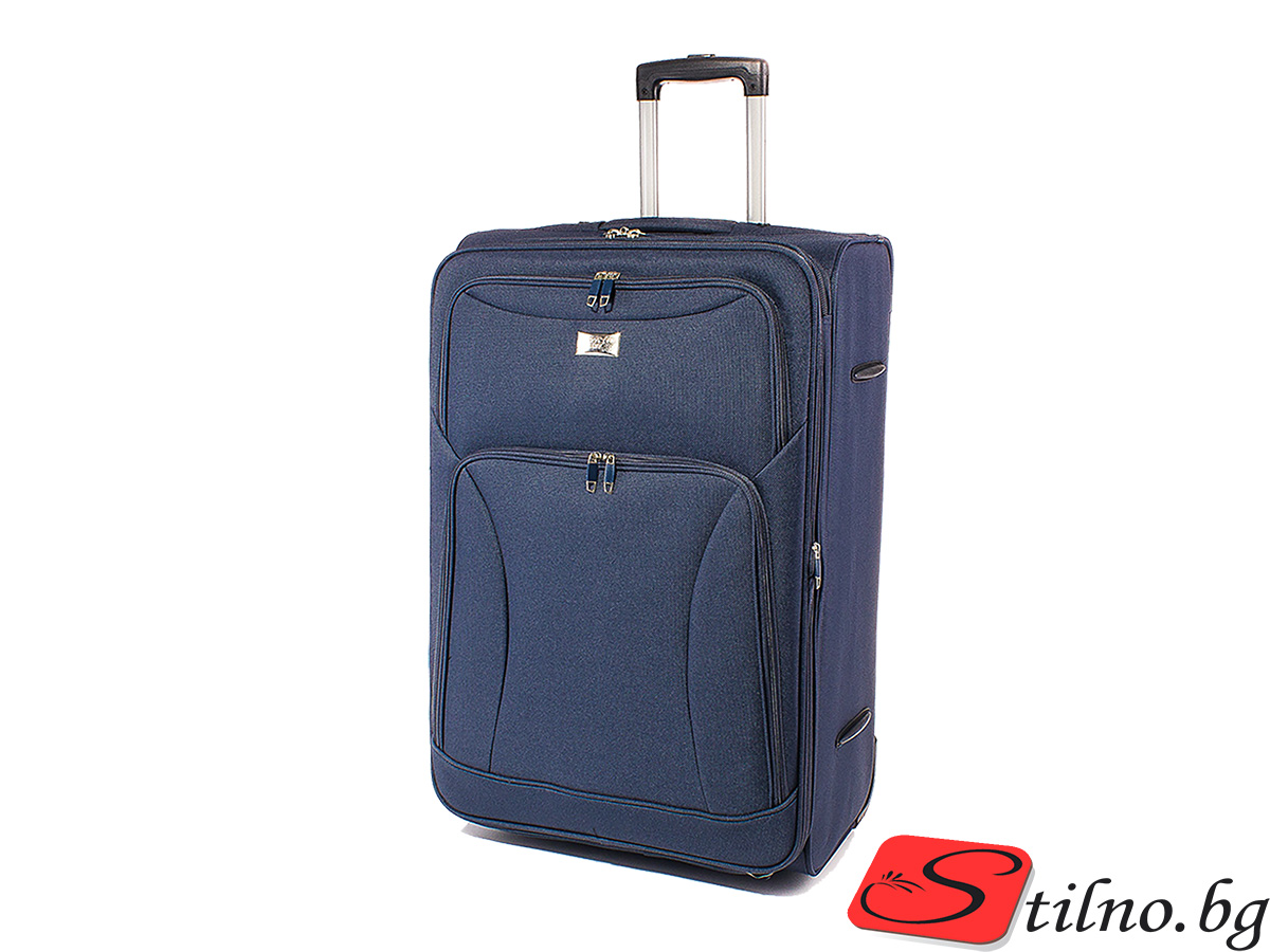 Куфар Perfect line 62/41/24  T1006M-24 - Тъмносин