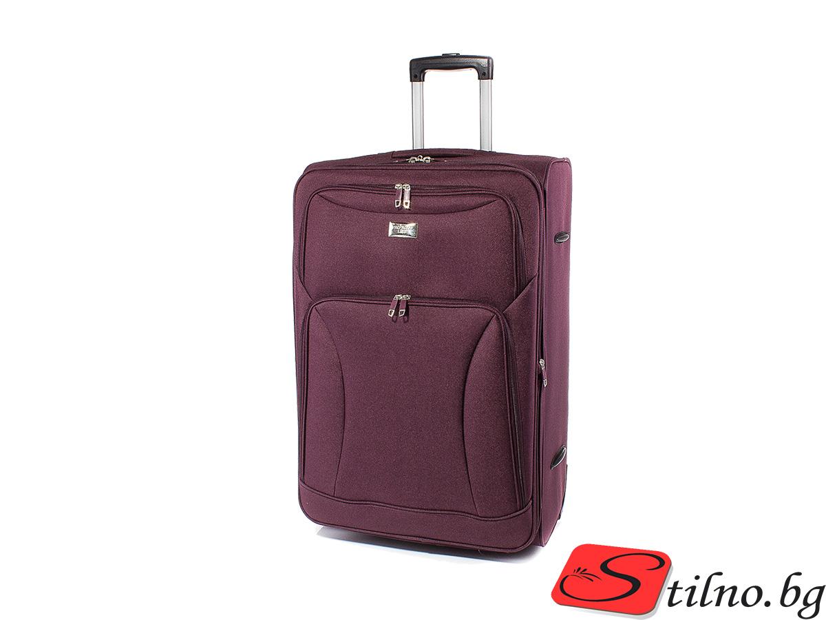 Куфар за ръчен багаж 52/36/21  T1006S-23 - Бордо