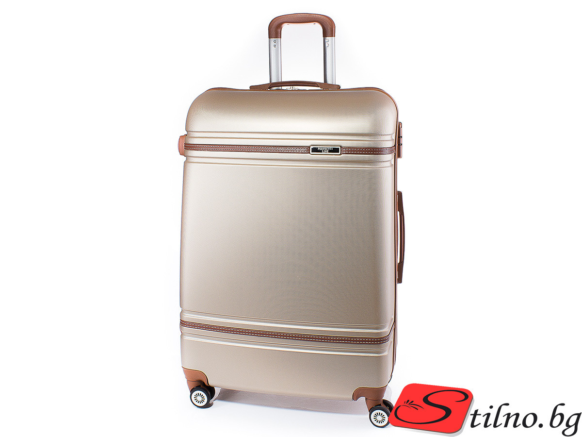 Куфар Perfect line 73/46/27 T1007L-12 - Златист
