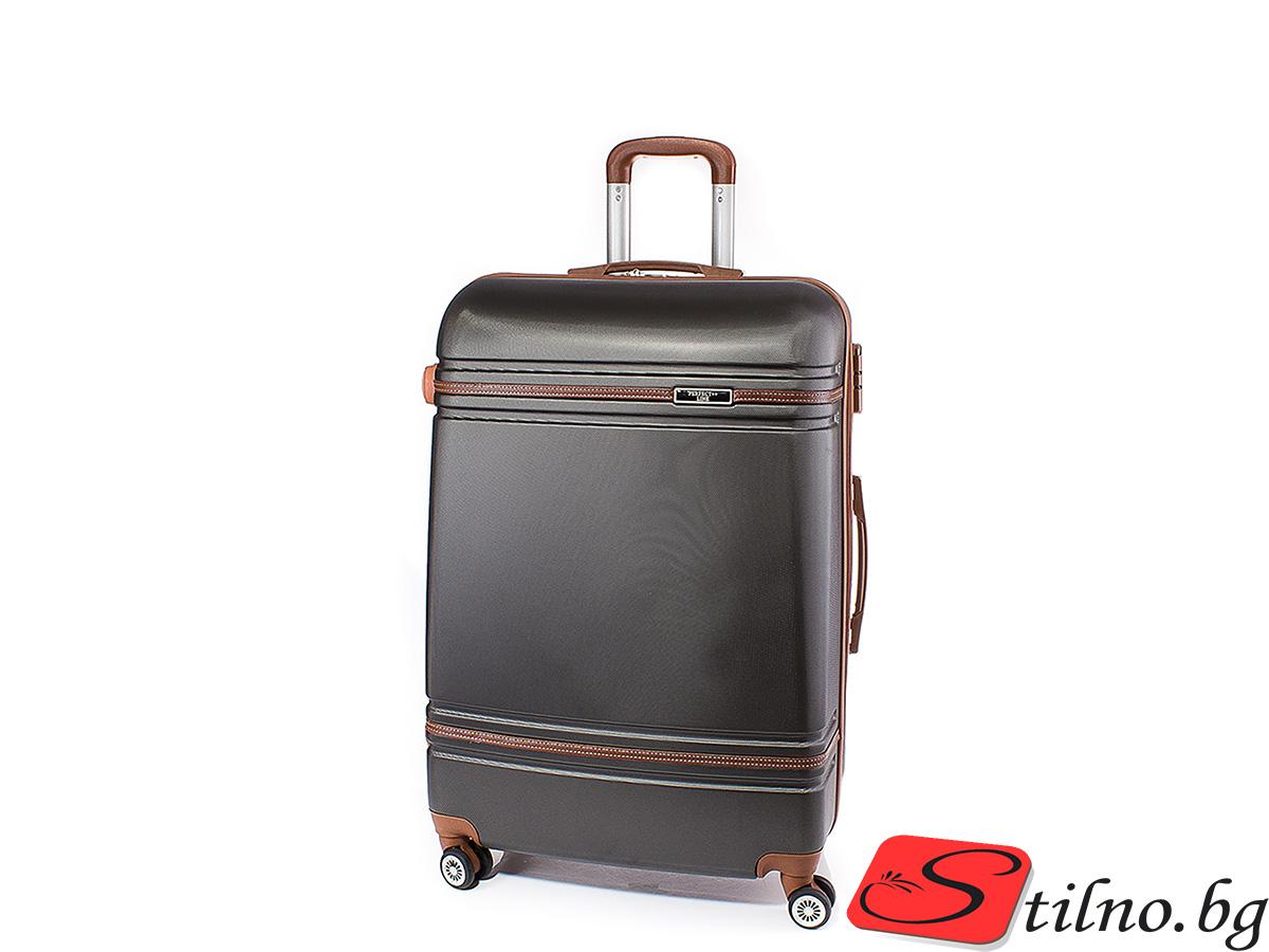 Куфар Perfect line 54/34/22 T1007S-34 - Тъмносив