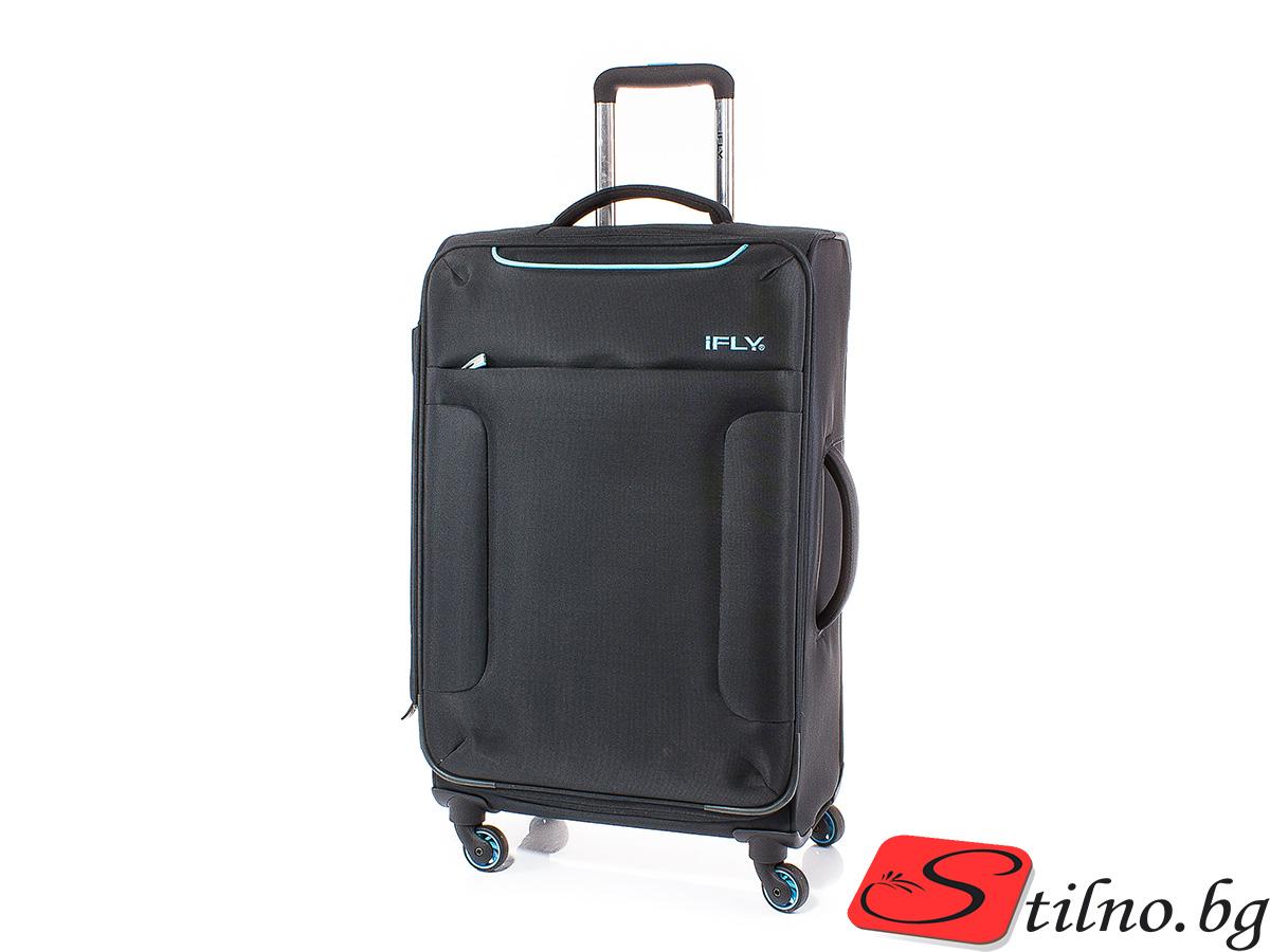 Куфар iFLY 58/35/21  T1008-08 - Черен