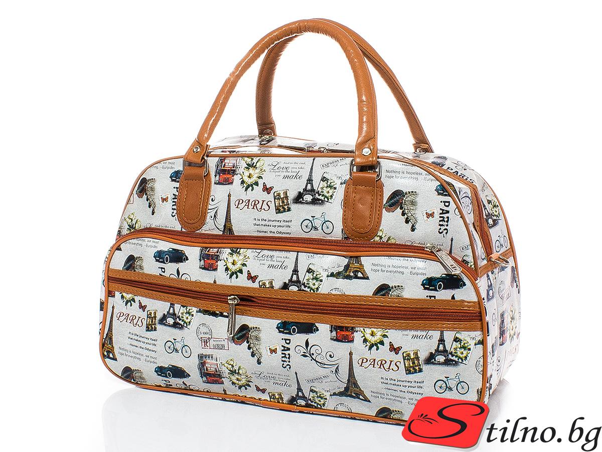 Пътна чанта T3008S-00 - Цветна