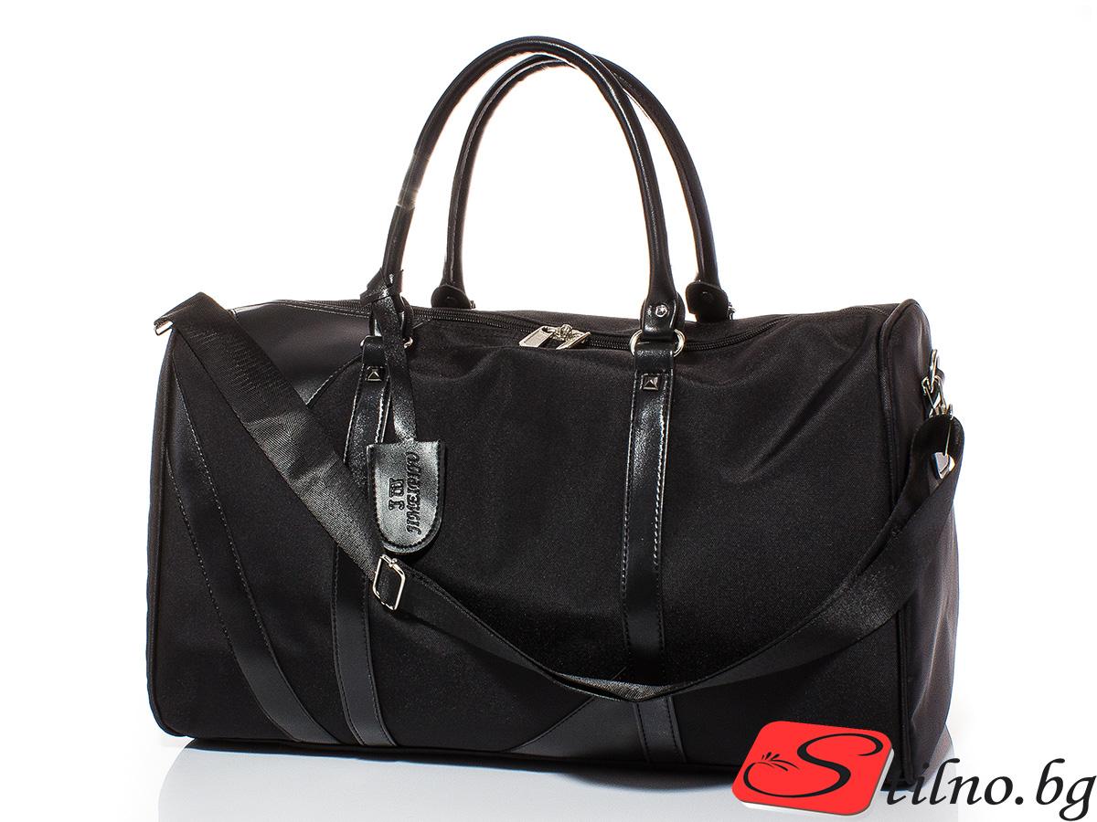 Пътна чанта T3013-08 - Черна