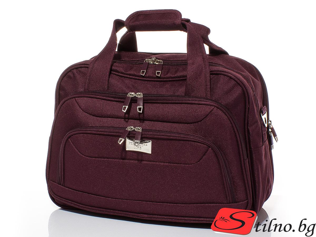 Пътна чанта T3015-23 - Бордо
