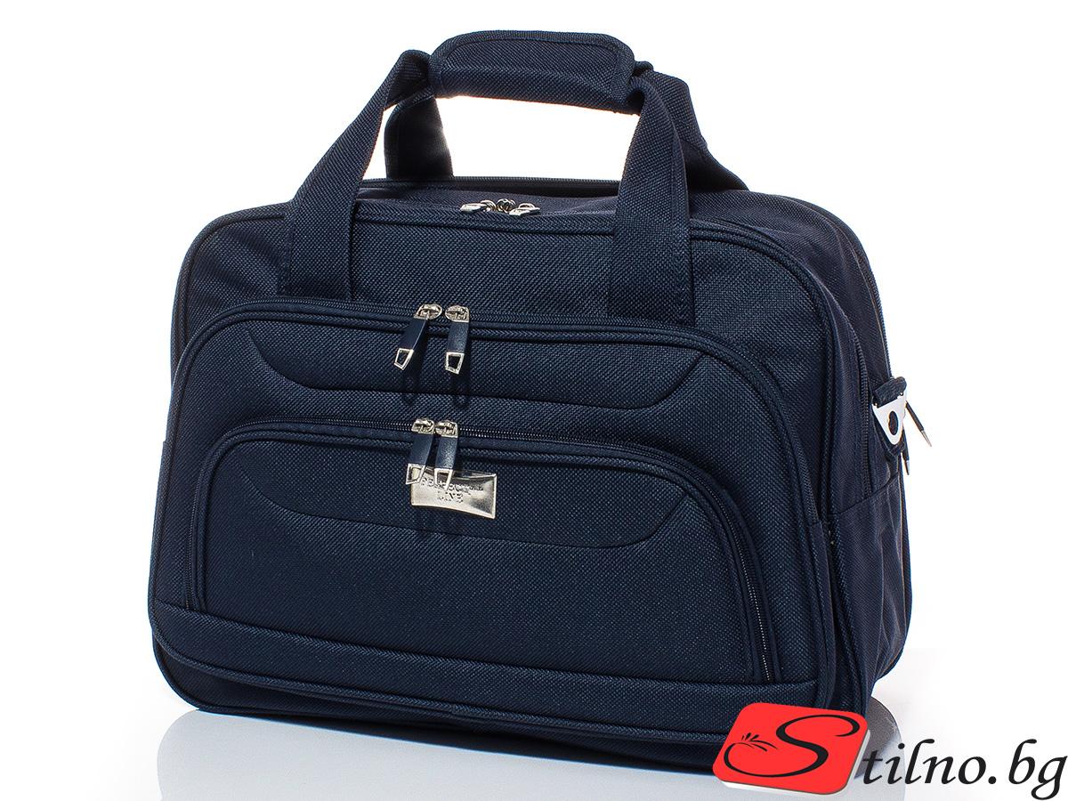 Пътна чанта T3015-24 - Тъмносиня