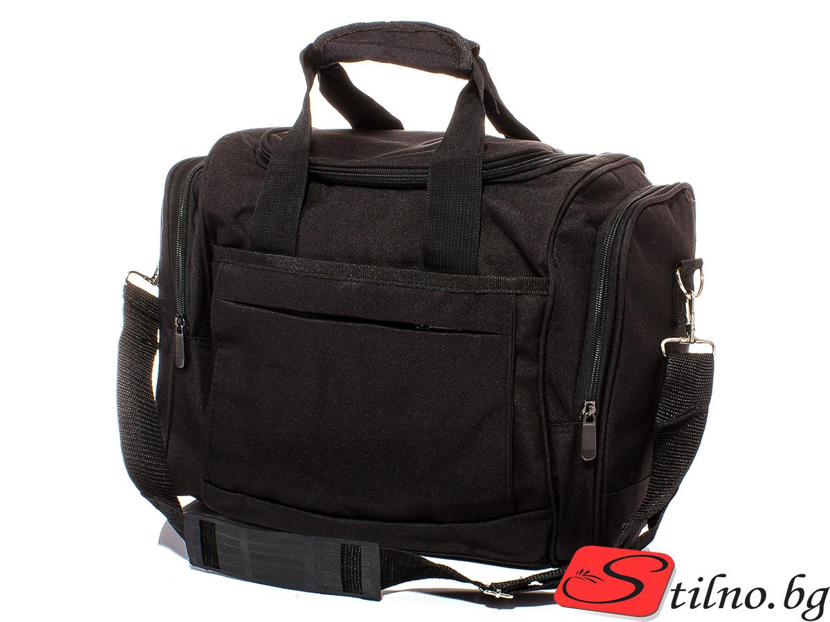 Чанта за ръчен багаж T3019-08 - Черна