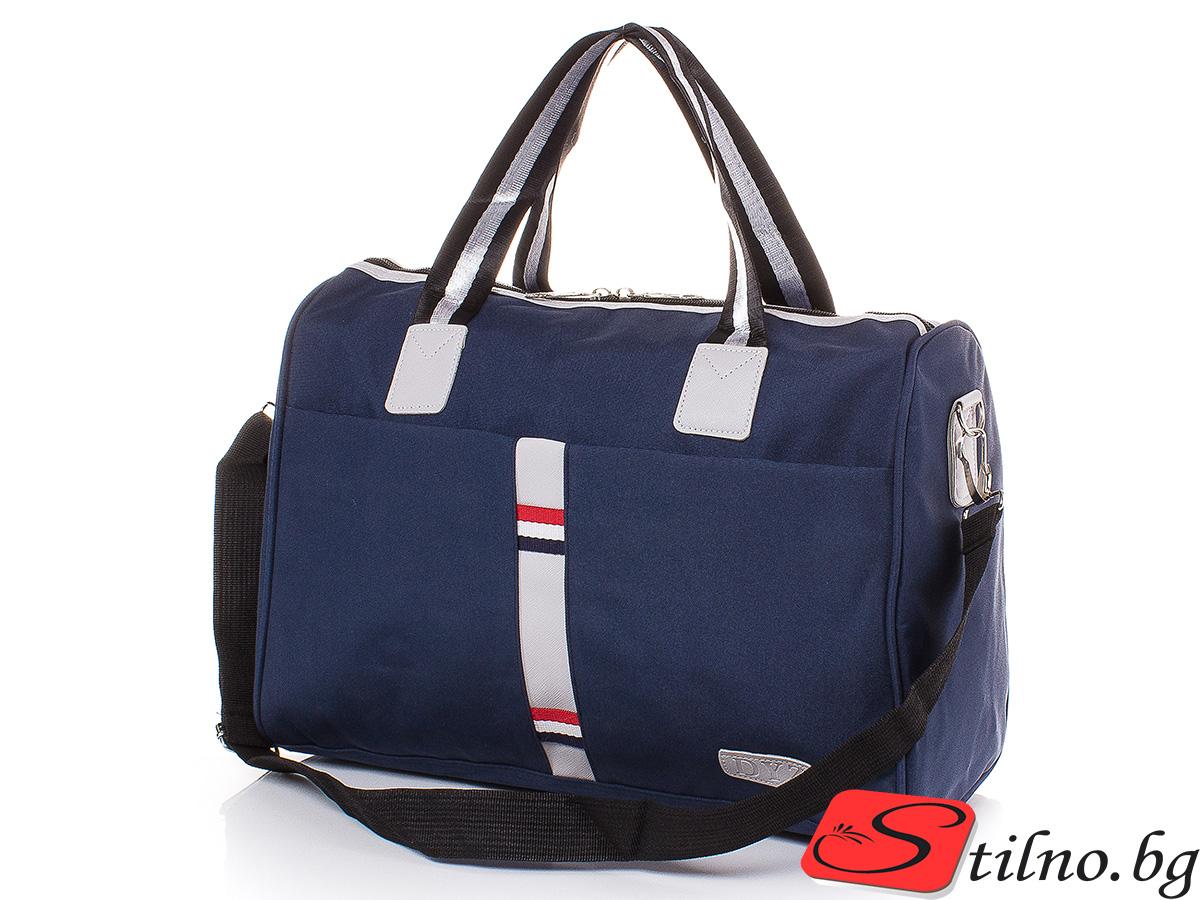 Чанта за ръчен багаж T3023S-24 - Тъмносиня