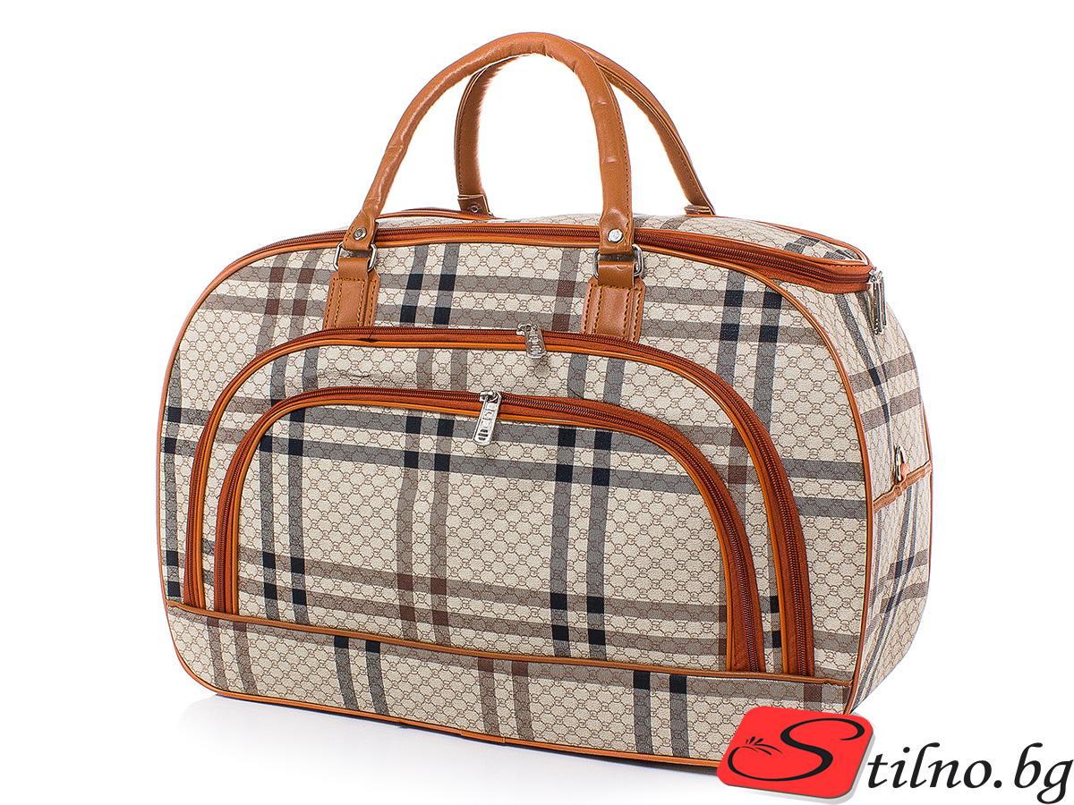 Пътна чанта T3026-00 - Цветна