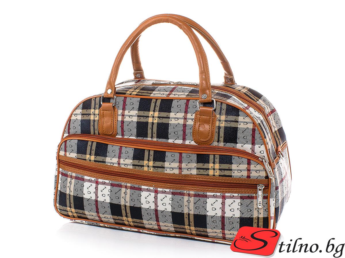 Пътна чанта T3027S-00 - Цветна