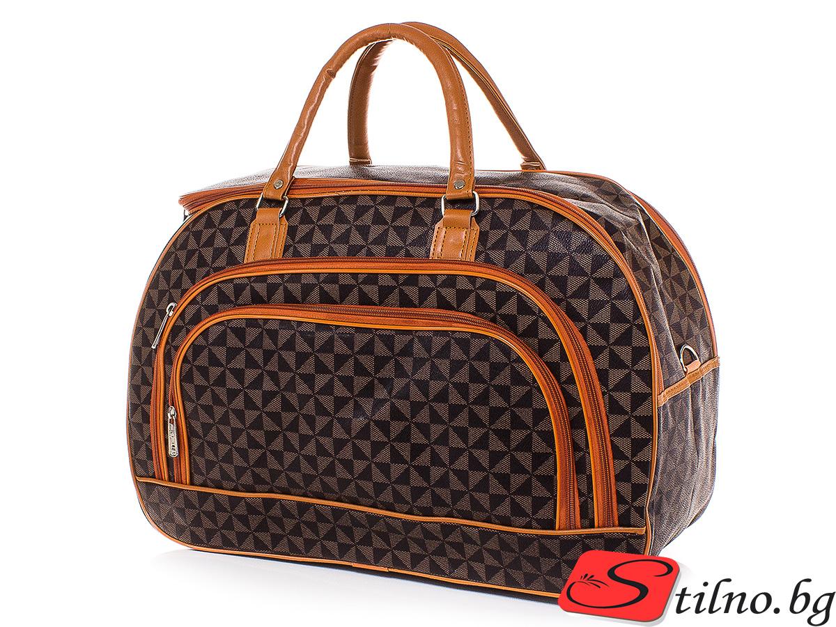 Пътна чанта T3028-00 - Цветна