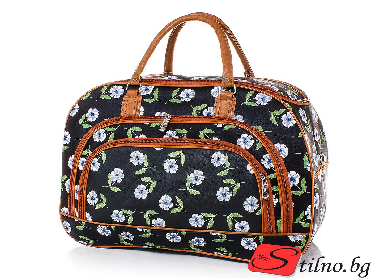 Пътна чанта T3029-00 - Цветна