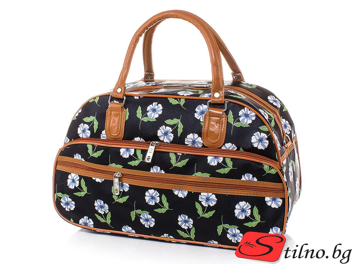 Пътна чанта T3029S-00 - Цветна