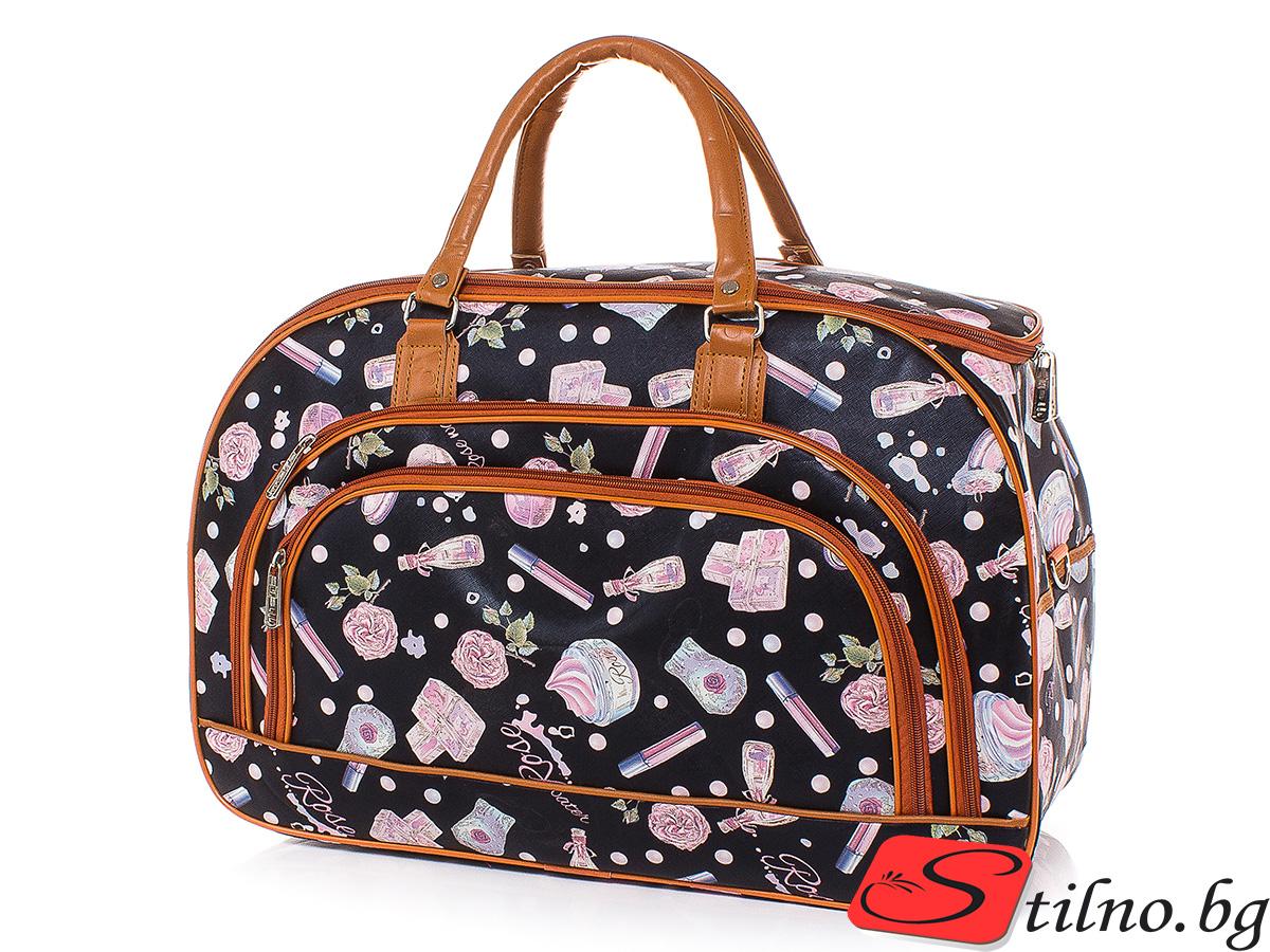 Пътна чанта T3030-00 - Цветна