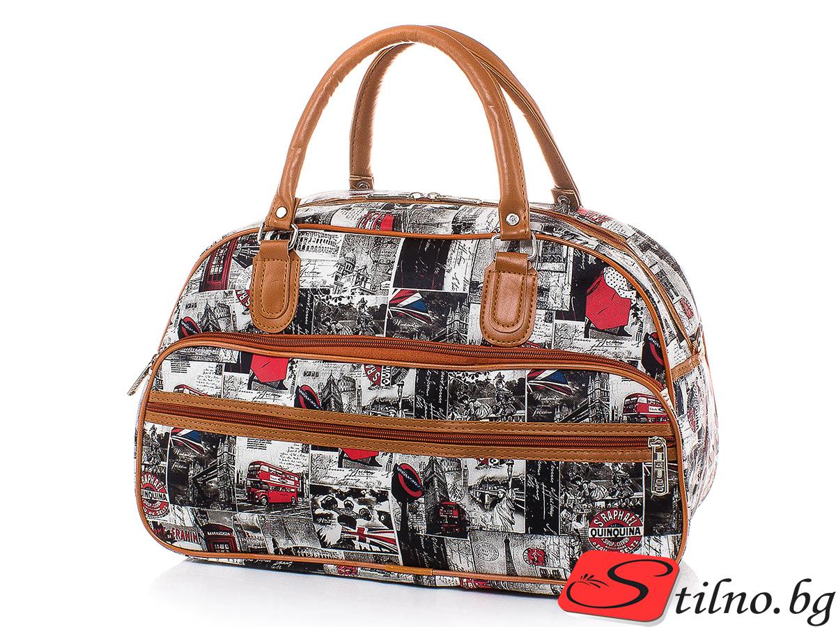 Пътна чанта T3032S-00 - Цветна