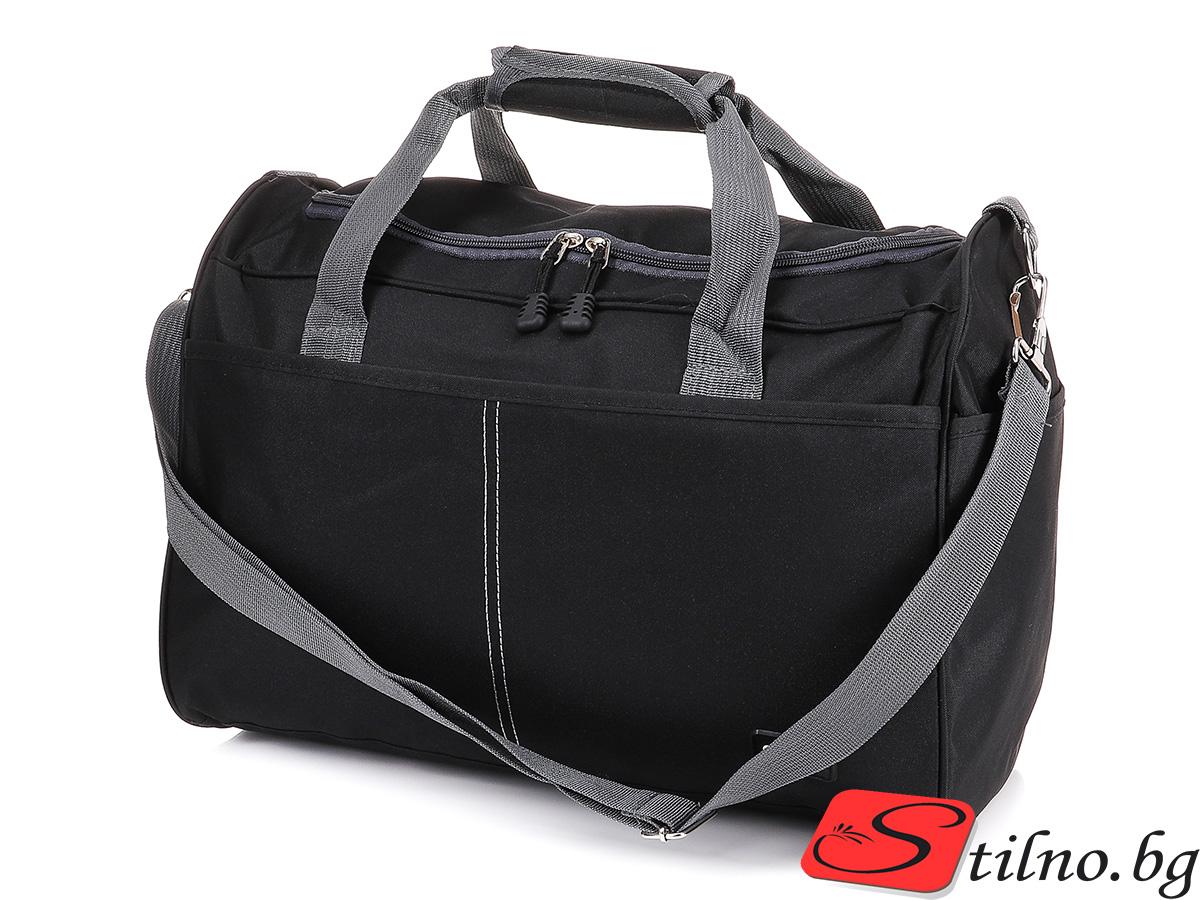 Чанта за ръчен багаж T3035-08 - Черна