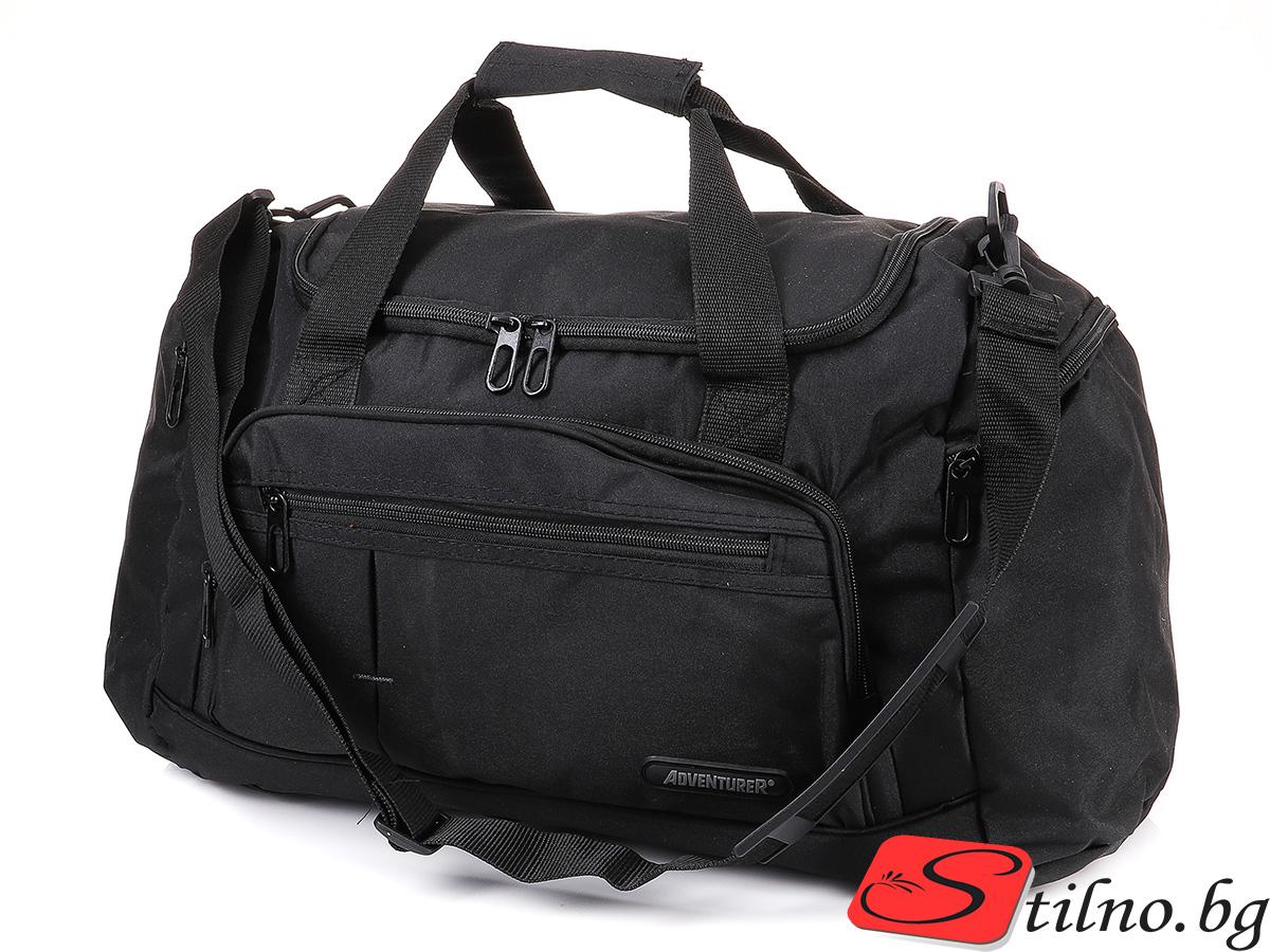 Пътна чанта T3036-08 - Черна