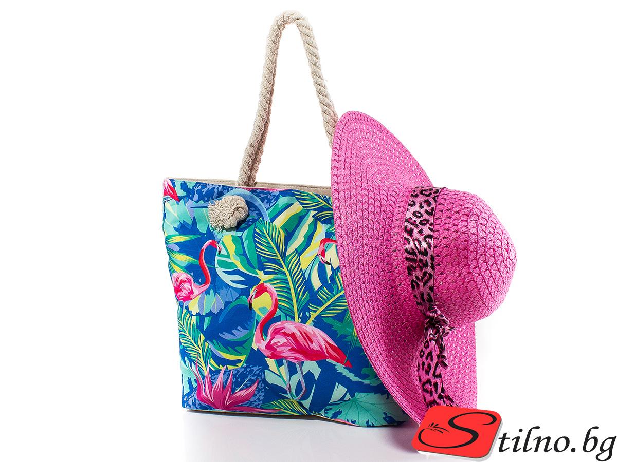 Плажен Комплект Тасос P5056-0017 - Цветен