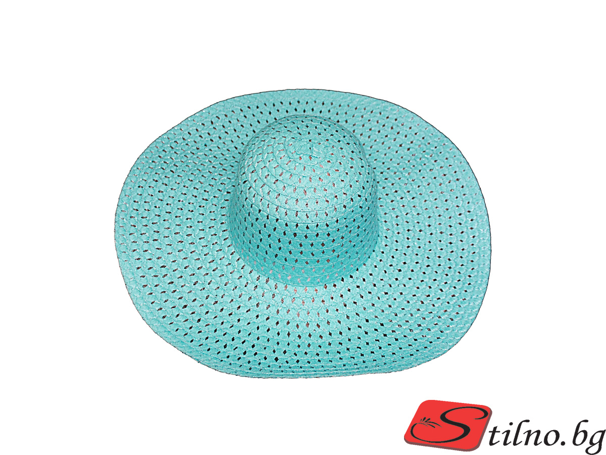 Плажна шапка Бети H1006-25 - Тюркоаз