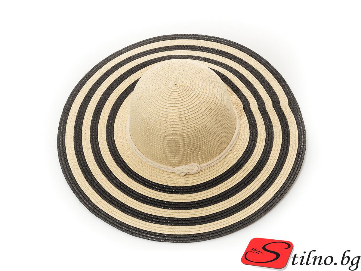 Плажна Шапка H1016-06 - Бежова