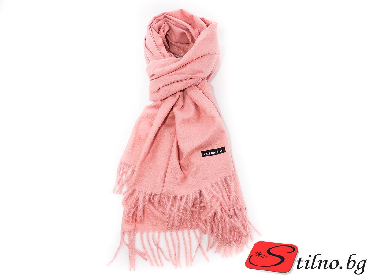 Дамски Шал G1034-07 - Розов