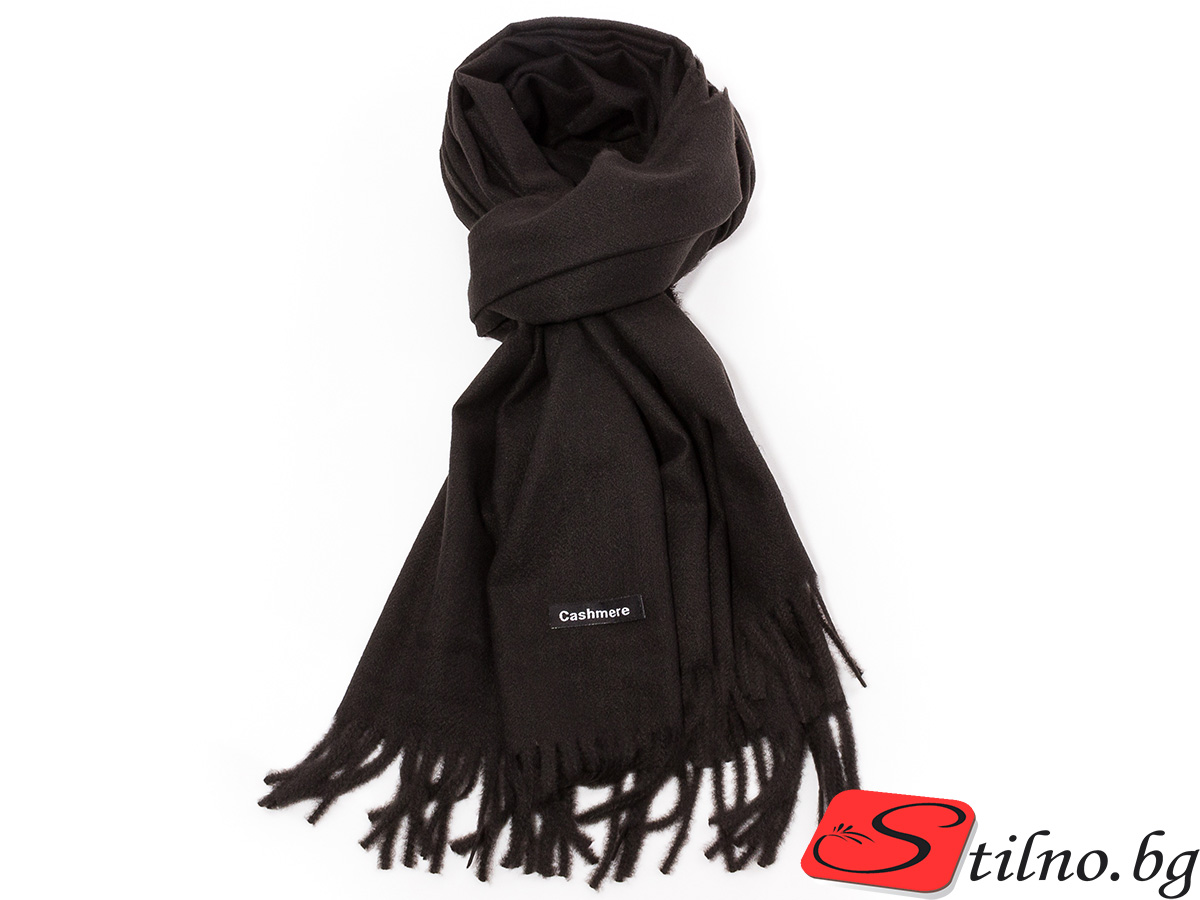 Дамски Шал G1034-08 - Черен